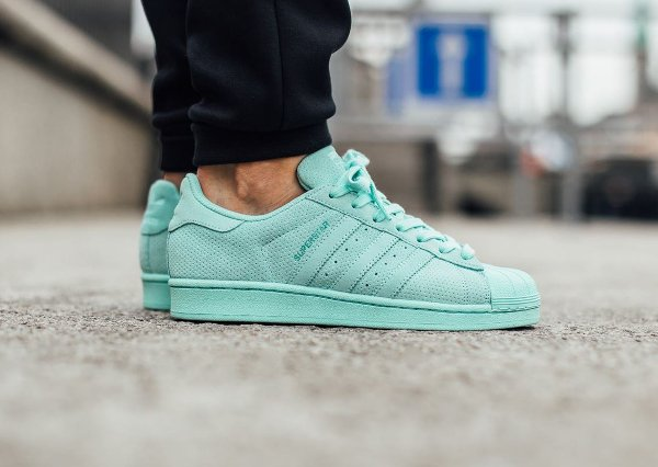 adidas superstar femme turquoise