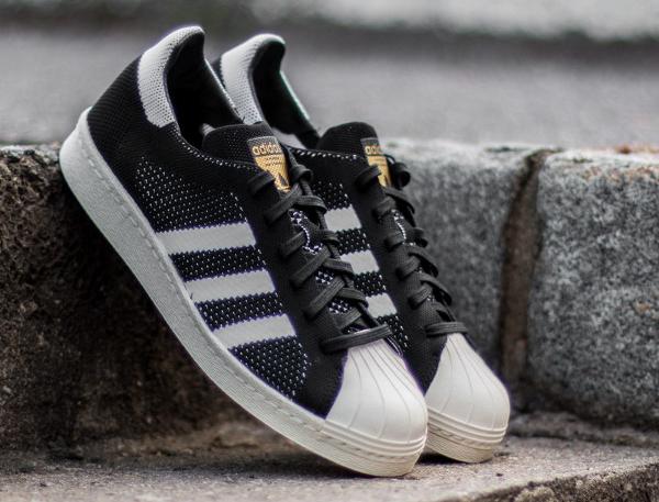 Adidas Superstar tissée noire (1)