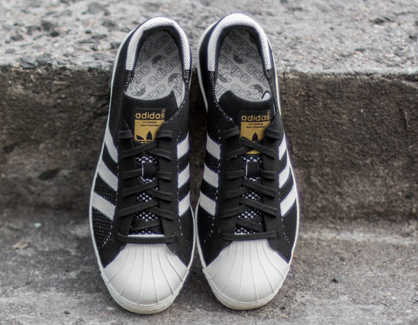 Adidas Superstar tissée noire (2)