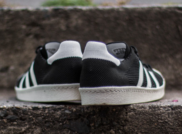 Adidas Superstar tissée noire (3)