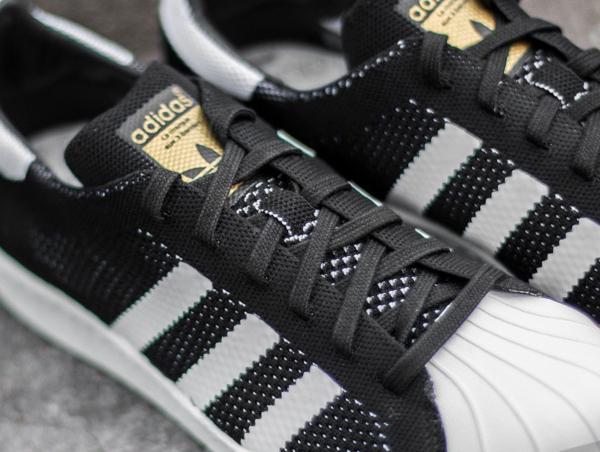 Adidas Superstar tissée noire (4)