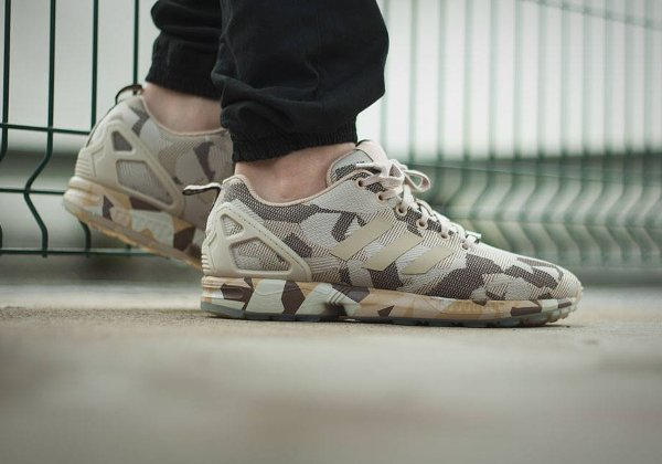 adidas zx flux homme camo