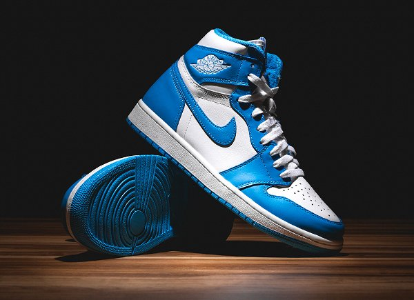 Air Jordan 1 Retro High OG White Dark Powder Blue 2015 (5)