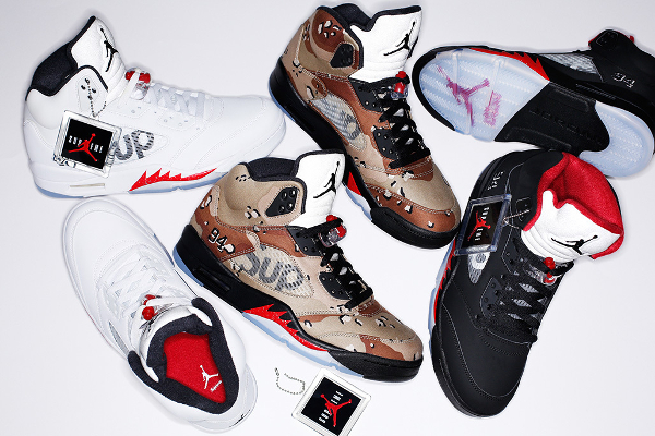 Air Jordan 5 x Supreme NYC 94 (1)