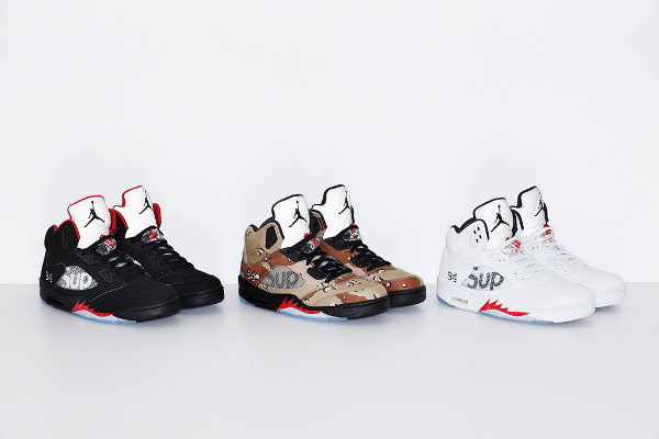Air Jordan 5 x Supreme NYC 94