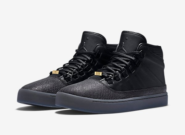 Air Jordan Westbrook 0 Croc Black Metallic Gold (1)