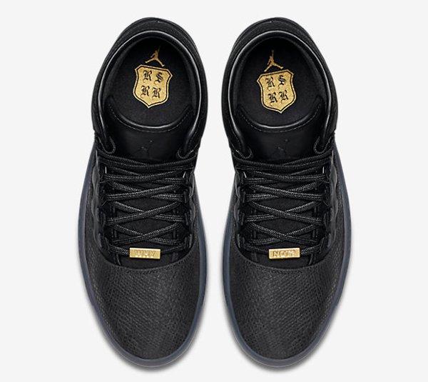 Air Jordan Westbrook 0 Croc Black Metallic Gold (8)