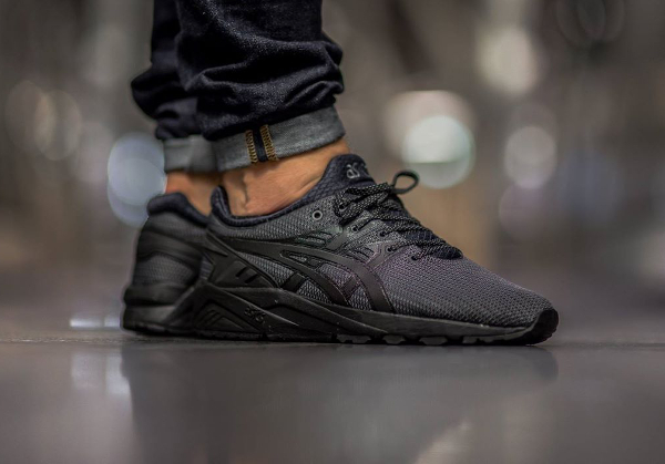 asics gel-kayano evo black