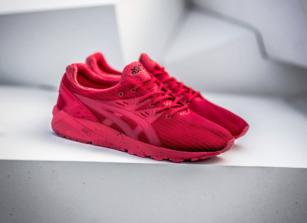 Asics Gel Kayano Evo Triple Red (rouge) (1)