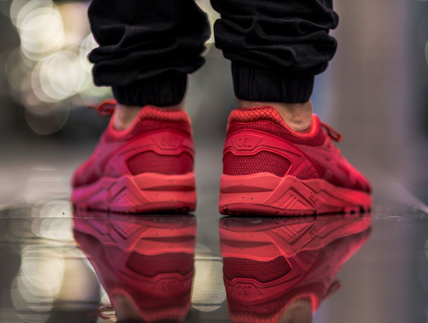 Asics Gel Kayano Evo Triple Red (rouge) (2)