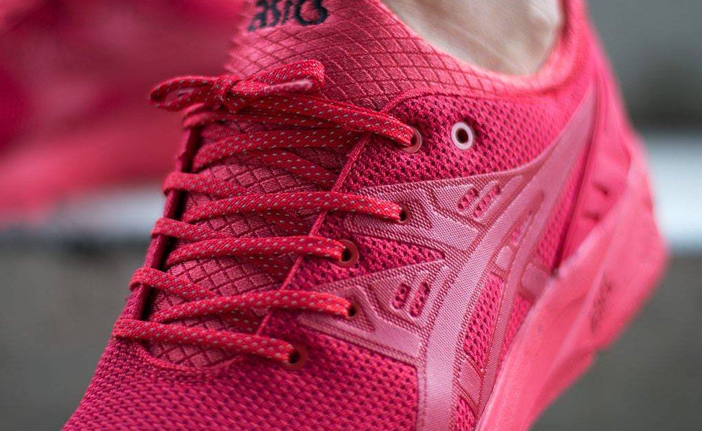 Asics Gel Kayano Evo Triple Red (rouge) (4)
