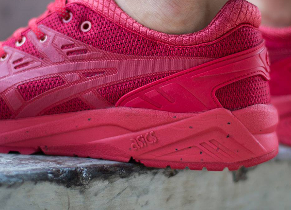 Asics Gel Kayano Evo Triple Red (rouge) (5)
