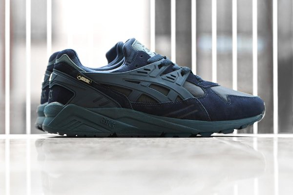 Asics Gel Kayano Trainer Gore Tex 'Burgundy & Navy'