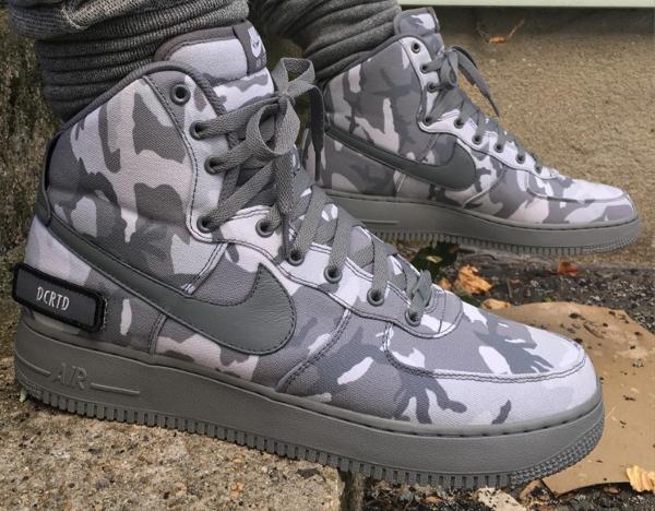 Nike Air Force 1 High ID Woodland Camo (1)