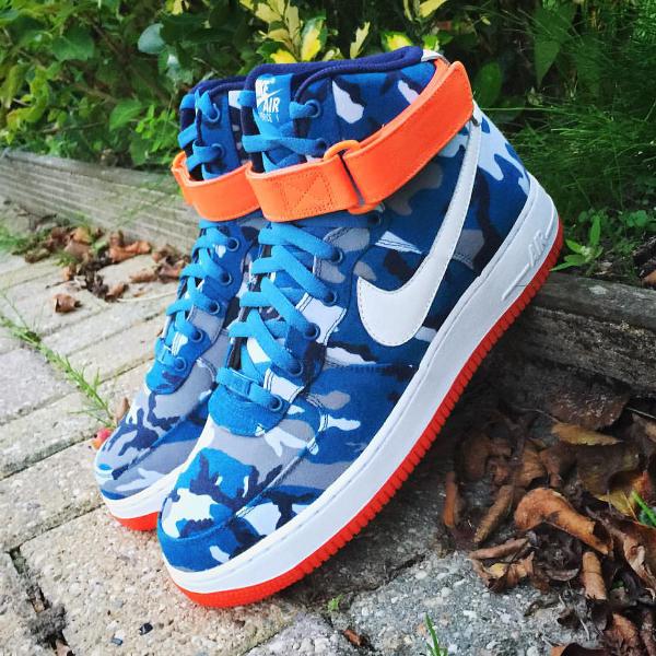 Nike Air Force 1 High ID Woodland Camo