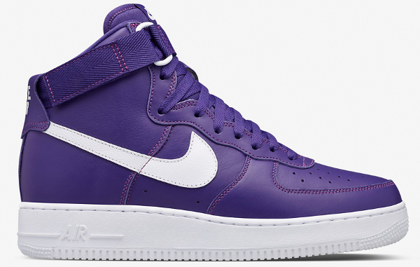 Nike Air Force 1 High SP cuir violet (1)