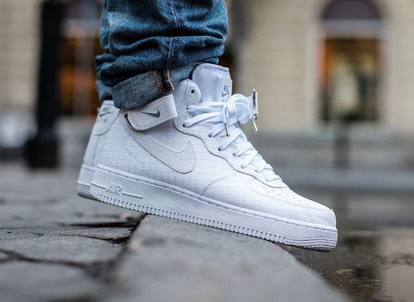 check out 23795 6ab91 Nike Air Force 1 Mid 07 LV8 White