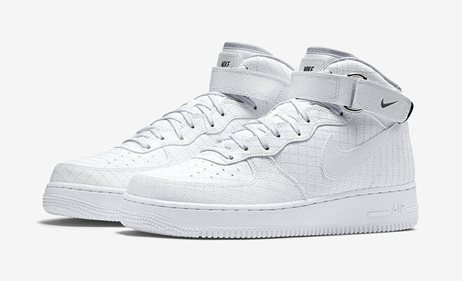 new product b4fca da123 Nike Air Force 1 Mid 07 LV8 blanche (1)