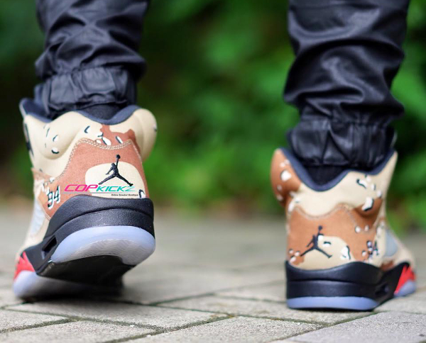 Nike Air Jordan 5 x Sup Bamboo (4)
