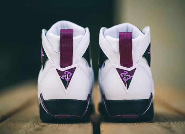 Nike Air Jordan 7 White Fuchsia Mulberry (femme) (2)