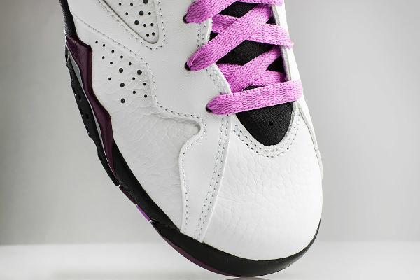 Nike Air Jordan 7 White Fuchsia Mulberry (femme) (5)