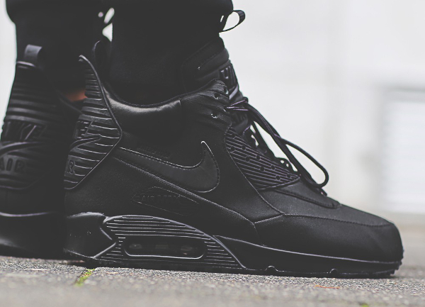Nike Air Max 90 Sneakerboot WNTR noire (1)