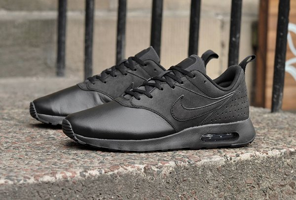 Nike Air Max Tavas Leather Triple Black (3)