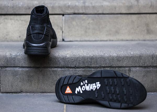 Nike Air Mowabb ACG OG noire (2)
