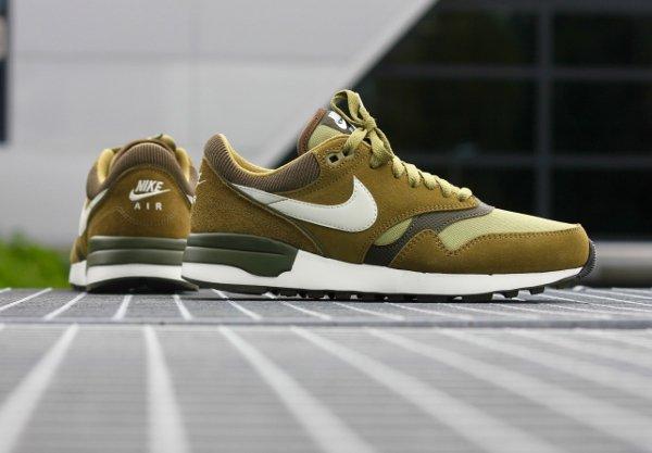 Nike Air Odyssey  Suede vert olive (2)