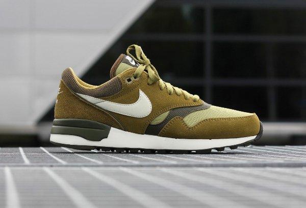 Nike Air Odyssey  Suede vert olive (3)