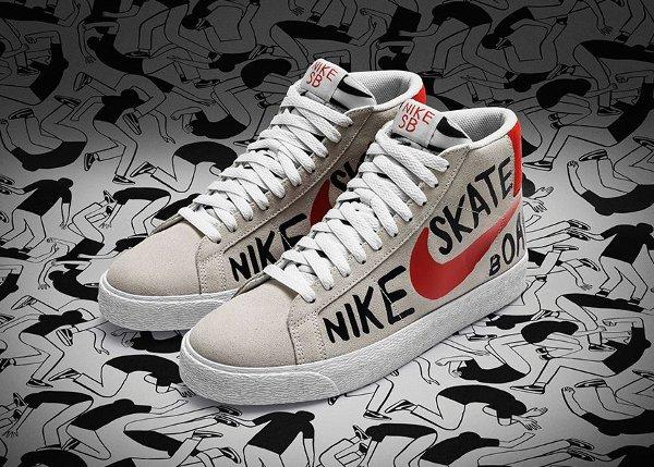 Nike SB Blazer Premium 'Geoff McFetridge'