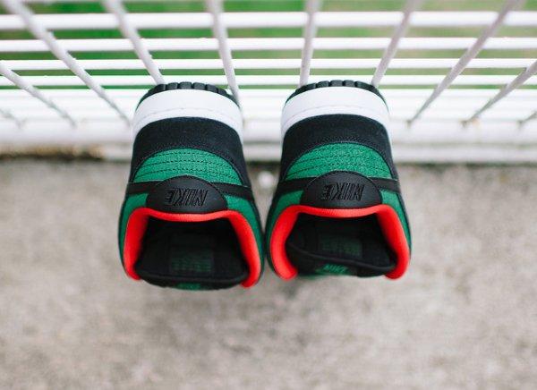 Nike Dunk Low Pro SB Black Gorge Green (2)