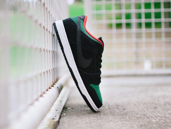 Nike Dunk Low Pro SB Black Gorge Green (3)