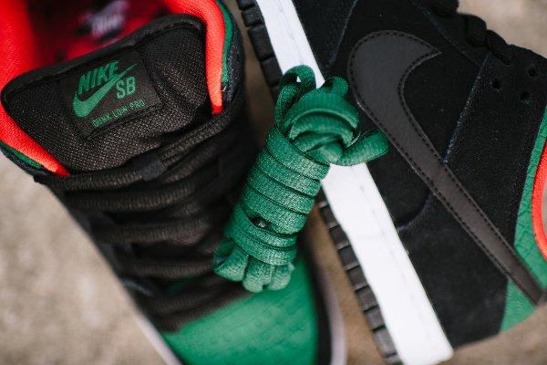Nike Dunk Low Pro SB Black Gorge Green (4)