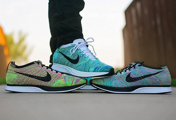 Nike Flyknit Racer Tranquil pas cher (1)