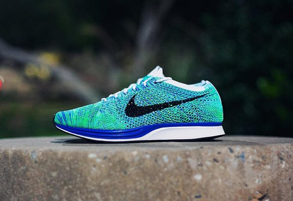 Nike Flyknit Racer Tranquil pas cher (3)