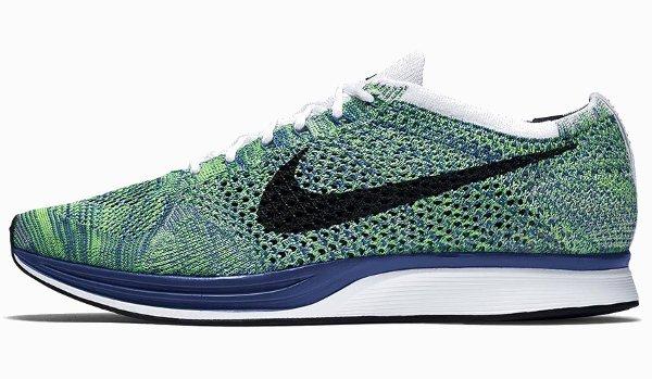 Nike Flyknit Racer Green Strike (2)