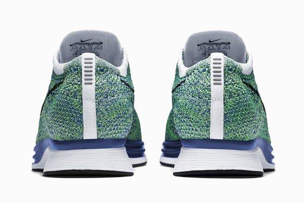 Nike Flyknit Racer Green Strike (3)