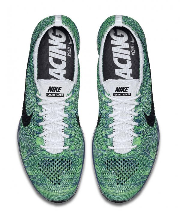 Nike Flyknit Racer Green Strike (4)