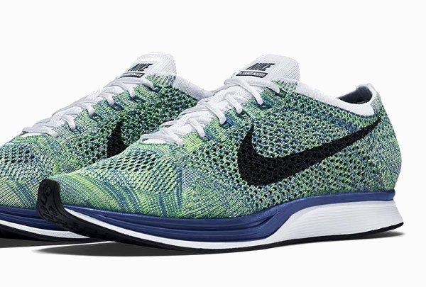 Nike Flyknit Racer Green Strike (9)