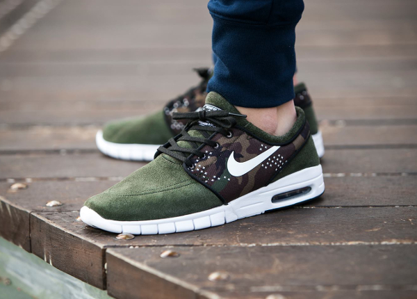 Nike Janoski Max Suede Sequoia Camo : où l'acheter ?