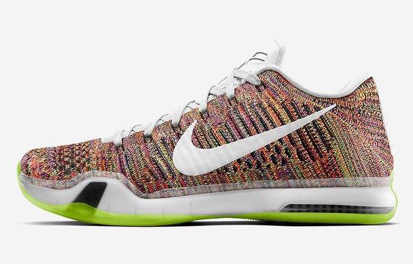 Nike Kobe X ID Flyknit 'Multicolor' (Grinch)