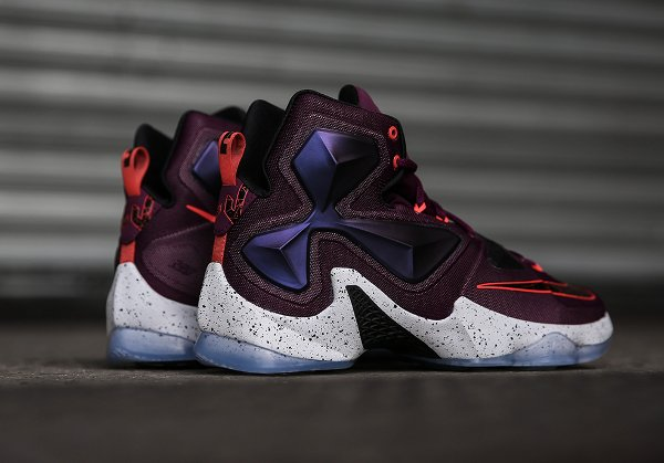 Nike Lebron 13 Mulberry Black Platinum Purple (2)