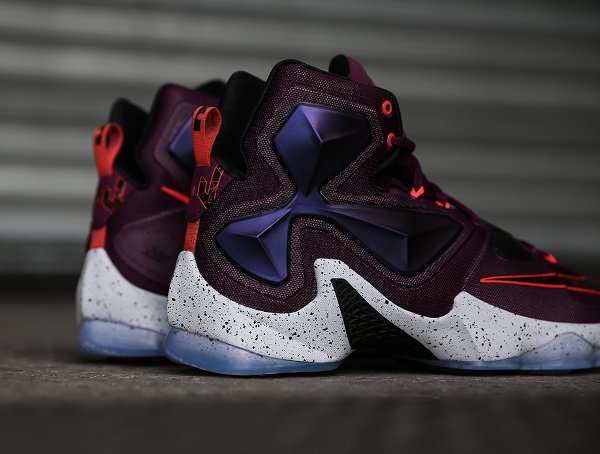 Nike Lebron 13 Mulberry Black Platinum Purple (3)