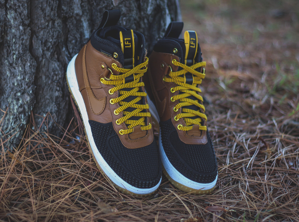 Nike Lunar Force 1 Duckboot Black Brown (4)