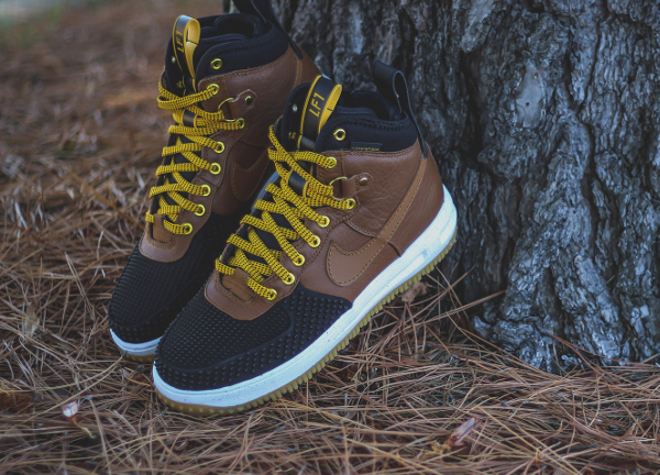 Nike Lunar Force 1 Duckboot Black Brown (5)