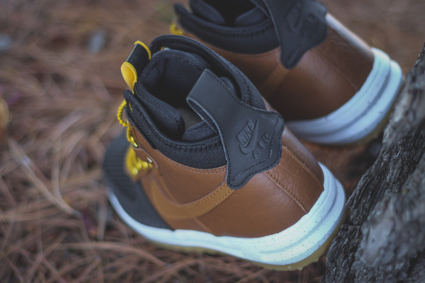 Nike Lunar Force 1 Duckboot Black Brown (8)
