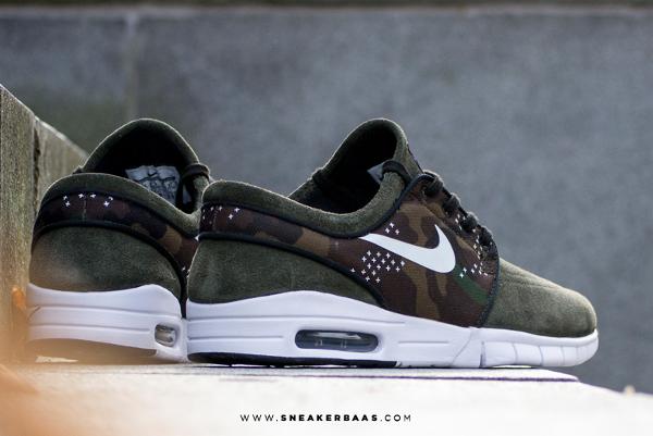 Nike SB Stefan Janoski Max Suede (Sequoia Camo) Sneaker