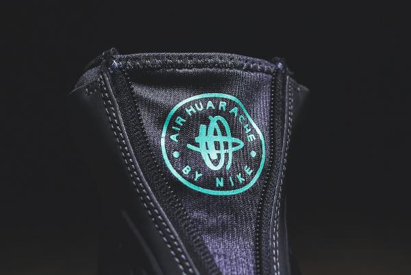 Nike Wmns Air Huarache Run Mid Premium Anthracite Menta (11)
