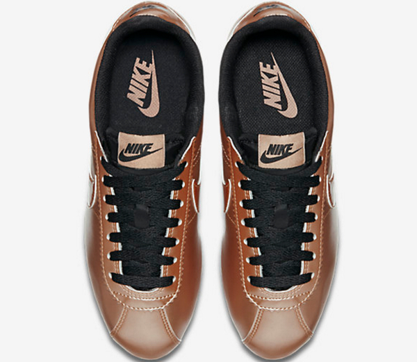 Nike Wmns Classic Cortez Leather Metallic Red Bronze (2)